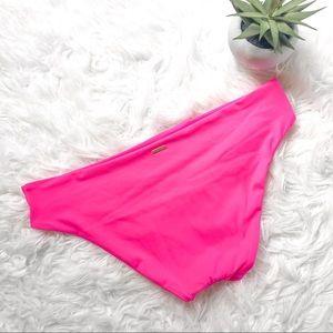 VICTORIA'S SECRET Neon Pink Swim Bottoms Medium